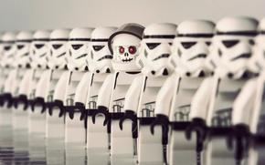 Обои макро, персонажи, игрушки, LEGO, звёздные войны, Star Wars, фигурки, лего