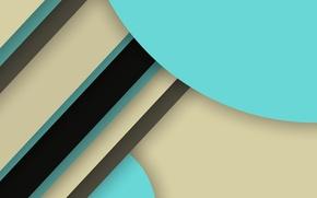 Картинка линии, голубой, черный, геометрия, material