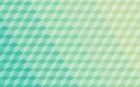 Обои абстракции, тень, полосы, фон, куб