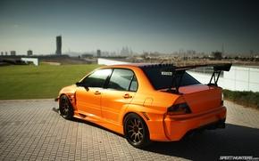 Обои Tuning, Evolution, Mitsubishi Lancer, Wallpapers, Car
