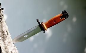 Картинка нож, АК-74, штык, к автомату