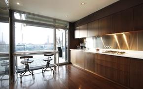 Картинка комната, интерьер, кухня