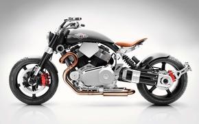 Картинка moto, bike, design, power, Confederate, Hellcat, Speedster, v-twin, X132