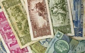 Картинка бумага, деньги, старые, купюры