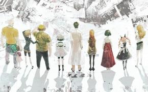 Картинка аниме, Steins; Gate, Врата штайнера