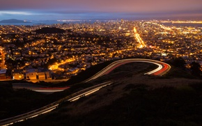 Картинка city, город, Калифорния, USA, США, Сан Франциско, California, San_Francisco