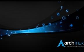 Картинка linux, archlinux