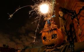 Картинка halloween, holiday, pumpkin