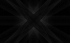 Картинка узор, крест, текстура, простор, икс, золотое сечение