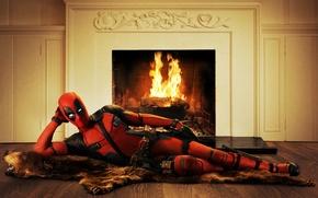 Картинка Ryan Reynolds, Deadpool, Marvel, Wade Wilson, Movie, 2016