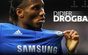 Обои Челси, Chelsea, Дрогба, Didier Drogba
