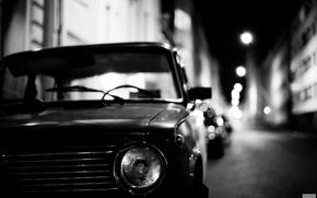 Картинка машина, вечер, копейка, автомобиль, классика, Lada, Лада, 2101