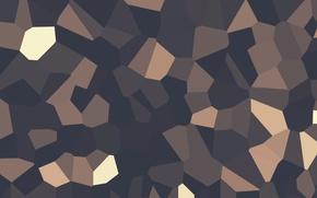 Обои блоки, текстура, объем, фигуры, Геометрия