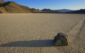 Обои desert, stone, mystery