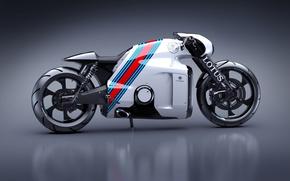 Картинка Concept, Концепт, Lotus, Мотоцикл, Лотус, Design, Superbike, C-01
