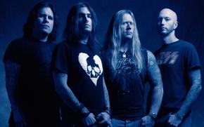 Обои groove-metal, thrash metal, Фил Деммел, Дэйв МакКлейн., Machine Head, Адам Дьюс, Робб Флинн