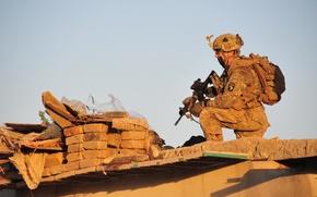 Картинка оружие, солдат, United States Army