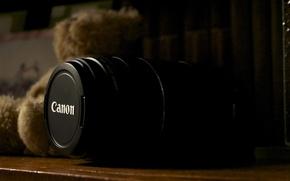 Картинка макро, мебель, lens, 75-300, фото, Canon, мишка, объектив