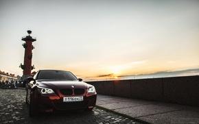 Картинка машина, авто, BMW, Тень, auto, смотра, E60, Smotra