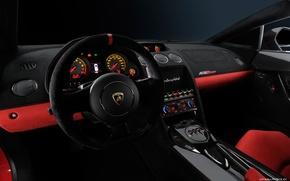 Картинка Lamborghini, Gallardo, салон