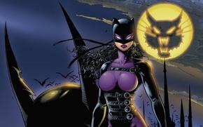 Картинка night, uniform, latex, Catwoman Guardian Of Gotham