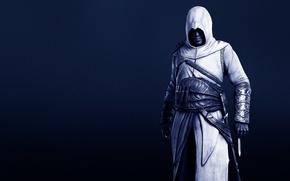 Картинка темнота, костюм, нож, Assassin's Creed, Кредо убийцы