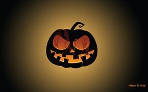 Картинка тыква, хэллоуин, праздник всех святых