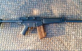 Картинка оружие, автомат, немецкий, Heckler & Koch, HK33