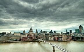 Картинка лондон, London, England, millennium bridge