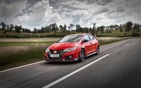 Картинка Honda, хонда, Civic, цивик, Type R, 2015