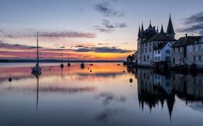 Картинка замок, Швейцария, Switzerland, Боденское озеро, Thurgau, Штекборн