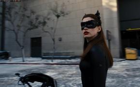 Картинка batman, фильм, бэтмен, энн хэтэуэй, anne hathaway, темный рыцарь возрождение легенды, the dark king rises