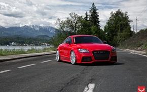 Картинка Audi, Vossen, Silver, Wheels, Polished, CV4