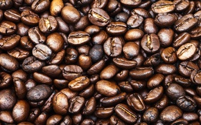 Картинка pattern, coffee, coffee beans, whole