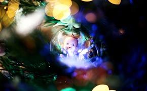 Картинка игрушка, елка, новый год, шар, украшение