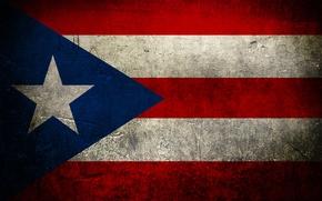 Картинка цвета, флаг, пуэрто рико