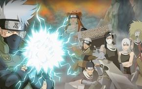 Картинка sword, game, anime, katana, sharingan, asian, manga, japanese, Hatake Kakashi, oriental, asiatic, live action, hitaiate, …