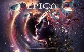 Картинка metal, gothic, sympho, Epica, The Holographic Principle