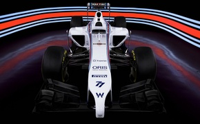 Картинка болид, formula 1, Williams, Martini, FW36