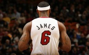 Обои basketball, James, Lebron James