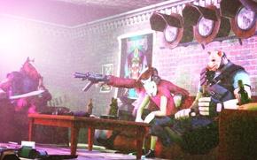 Картинка TF2, Team Fortress 2, Hotline Miami