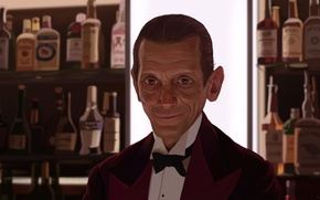 Обои Lloyd, бармен, The Shining, Lloyd the Bartender, Joe Turkel