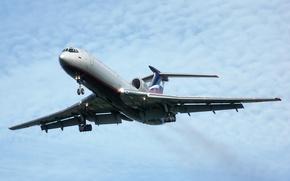 Картинка Самолет, Ту-154, Tupolev, Аэрофлот, Туполев