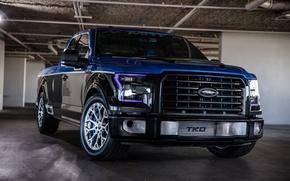 Обои Ford, бампер, F150