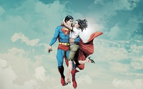 Обои comics, Superman, dc universe, Lois Lane