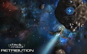 Картинка космос, звёзды, полёт, retribution, d'mok revival, book 2