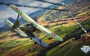 Картинка самолет, разрушения, бой, aviation, авиа, MMO, Wargaming.net, World of Warplanes, WoWp, BigWorld, аркада, arcade plane, …