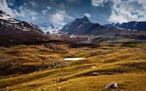 Картинка горы, озеро, chistoprudov, киргизия