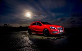 Картинка красный, Mercedes-Benz, мерседес, AMG, A-class, амг, W176