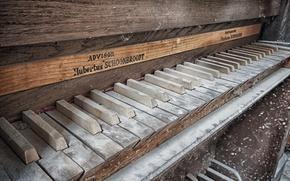 Обои фон, пианино, музыка